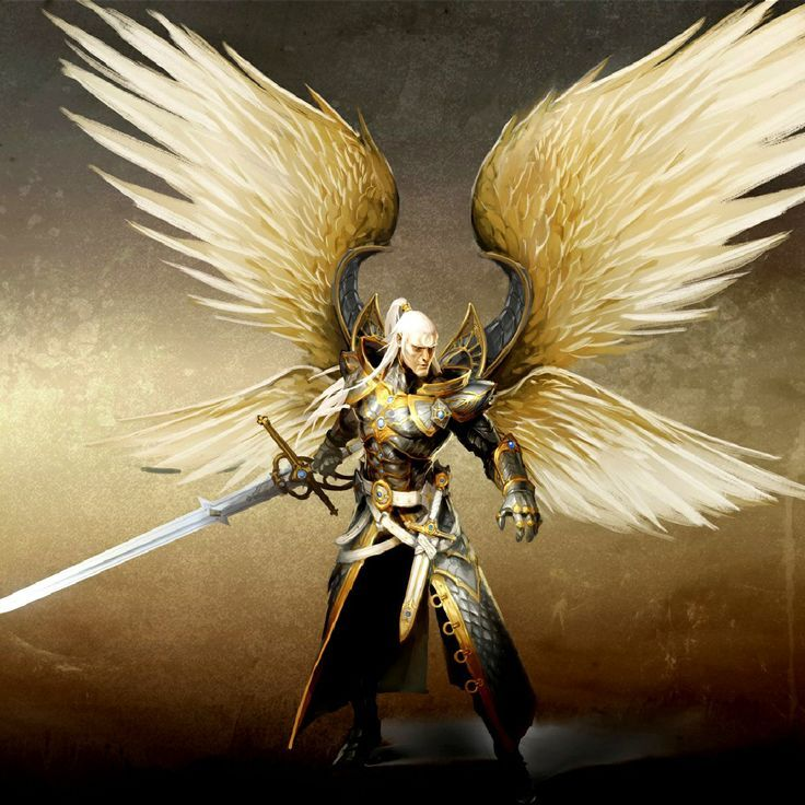 *Back in his angelic form, Michael stands at the rooftop of a tall building a few blocks away from t