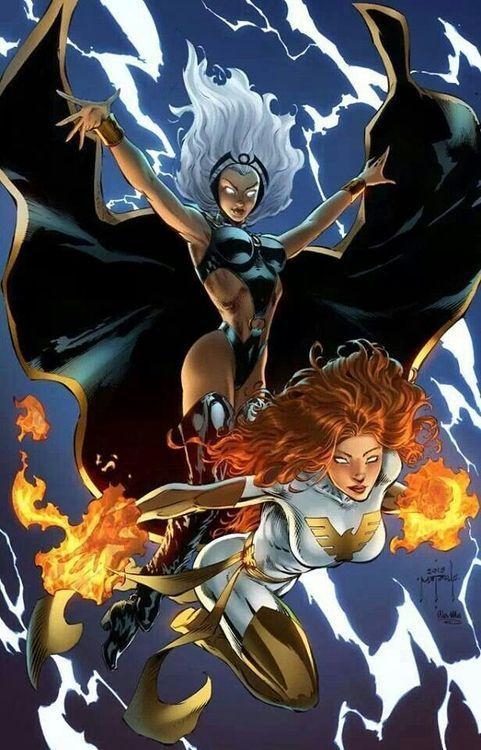 *Jean and Noloty pose together for an action theme with special effects and is amaze as to how Jean