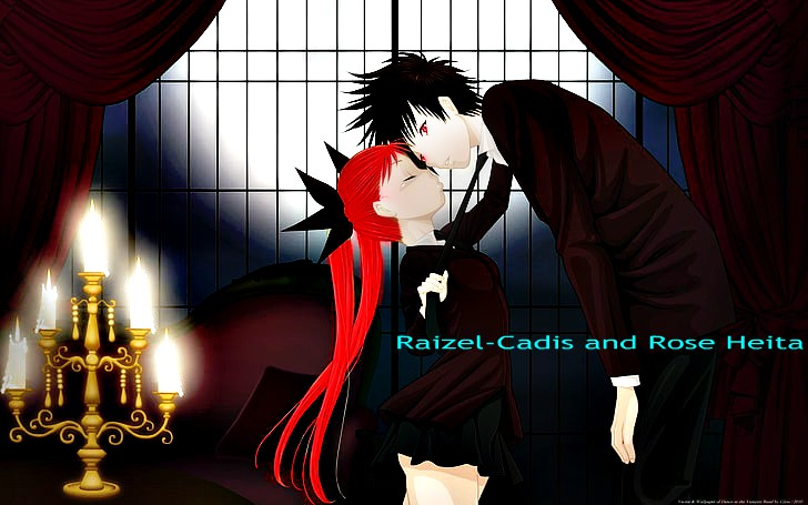 *Lord Raizel heard her enticingly call him by his human nickname yet hearing it her lips did not bot