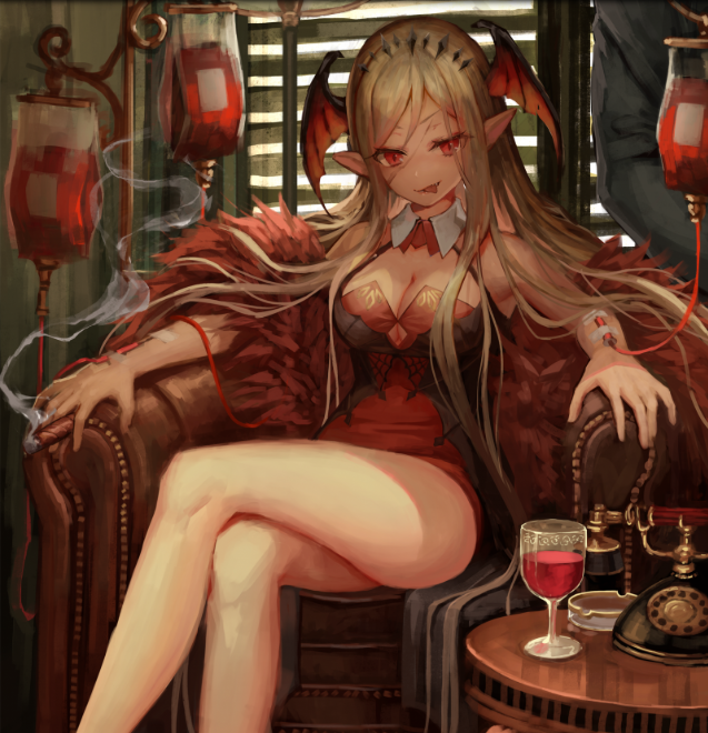 *Damiana's grand uncle Thorny Toshi sent her to investigate the appearances of Carmilla within