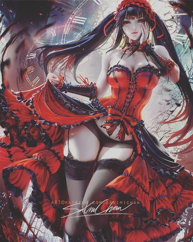 *Helena's daughter Kurumi makes her way into the club.* @blackflamerose kurumi.75271439_240973