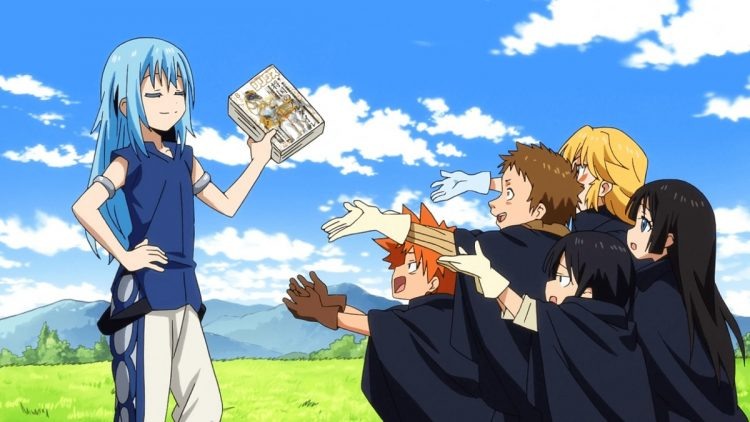 *Arrives at True Crossover Academy and he's already getting along with the students there.* te