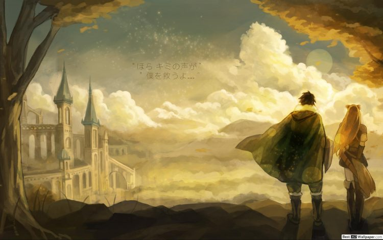 *Walking towards the bus stop, Kandace and Iwatani turn to admire the beautiful palace.* What a diff