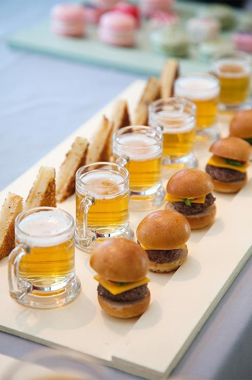 Miniature Beer, Sliders and Potato Wedges 3F781F36-BA59-41BA-AA8D-3D4D817425AD