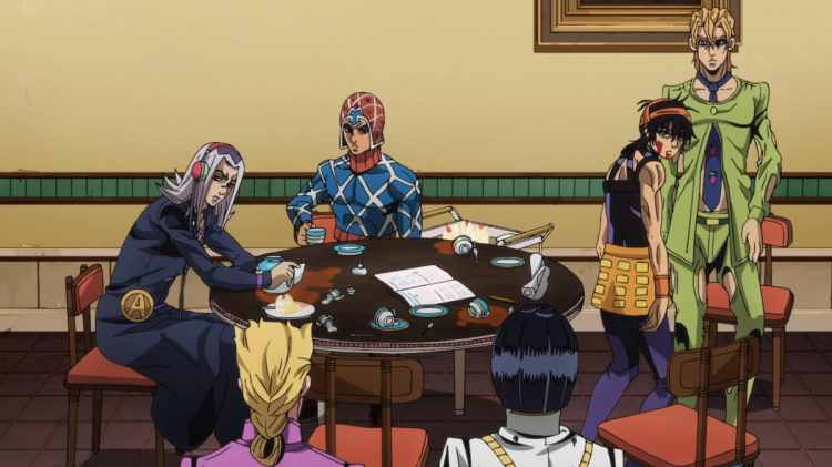 @giogio @zippergangster @leone @narancia @mista How is it, that we go out and end up at this restaur