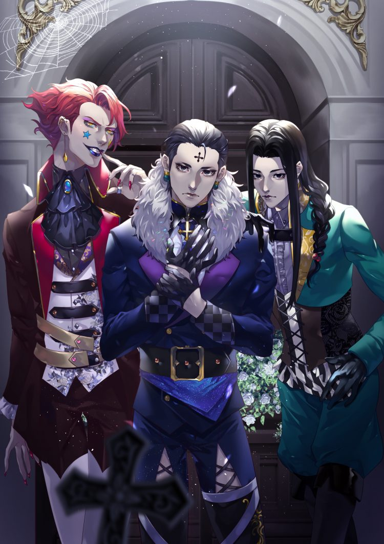*Chrollo thought back as to how Hisoka, Illumi and he arrived at Skyrie. Was it a wish that Illumi m