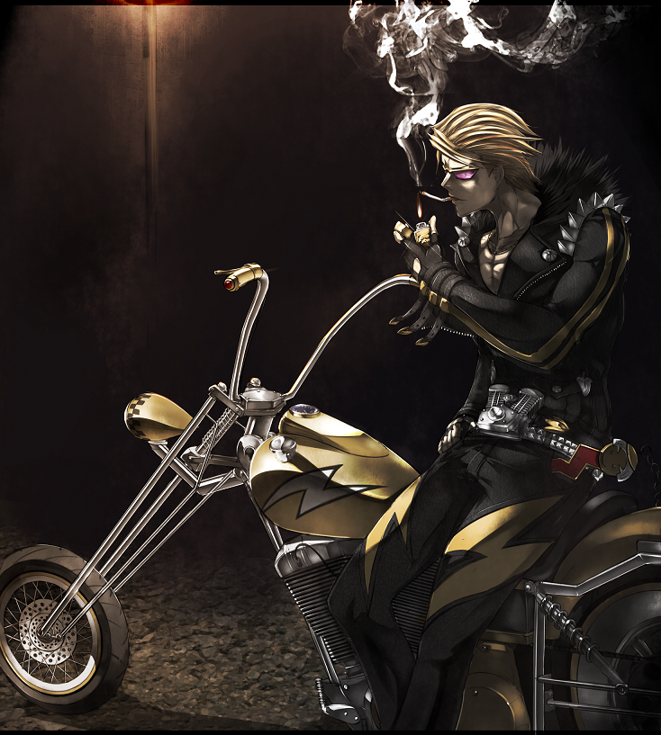 *Stops for a smoke after hearing from Noloty some news about her interrogations. He had a feeling th