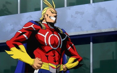 *There was no rest for the wicked to All Might took his students to the stadium for some early morni