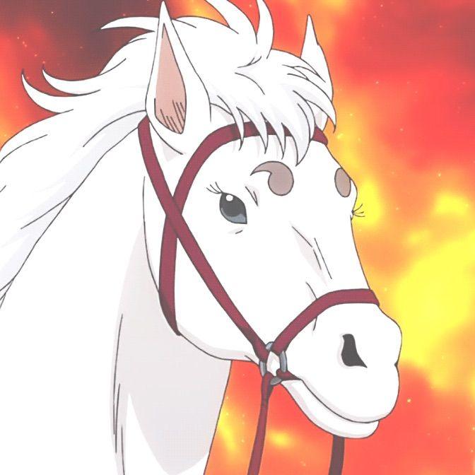 *Ginko drops off Kagura's pet…Sadahorse, at the stable.* @sherlockgoddess b2f3ca13756039