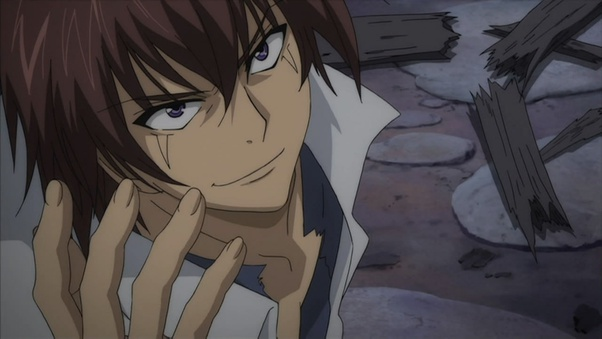 Hey beautiful! *he looks at his wife and then turns his attention to the monsters.* Don't hord