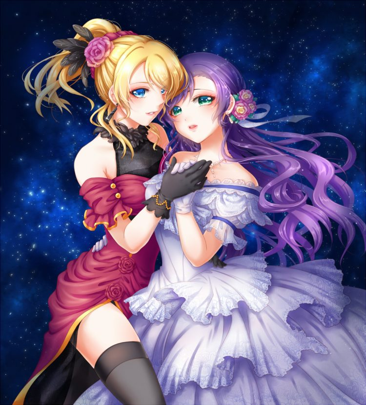 *=* Gets off the stage finding Helena against asking her if she could have this dance. Eli has so mu