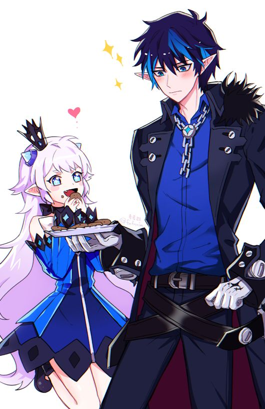 *Watches Kuciel indulging his younger sister Luciela.* @blackflamesoul @shadowflamesoul 1a4eb819bdf8
