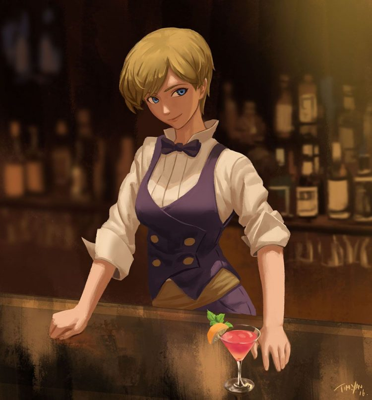 *Since Ecko as new at bartending, family thought it would be best if she trained at the SugarFusion