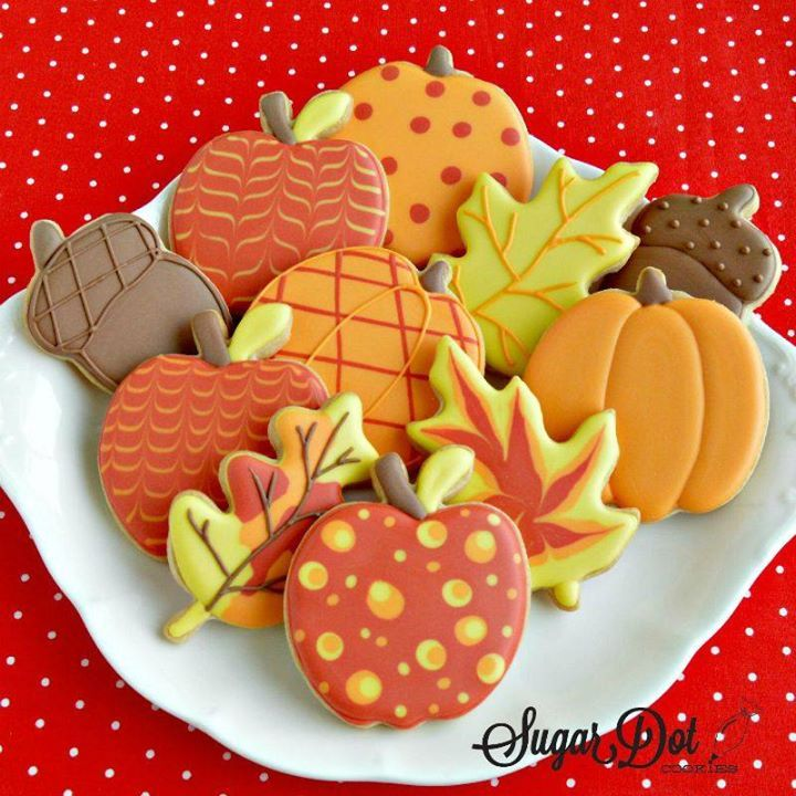 Okay, okay…here are some Fall cookies! *smiles* 66DEA377-A2ED-4B37-8933-7CCF65874856