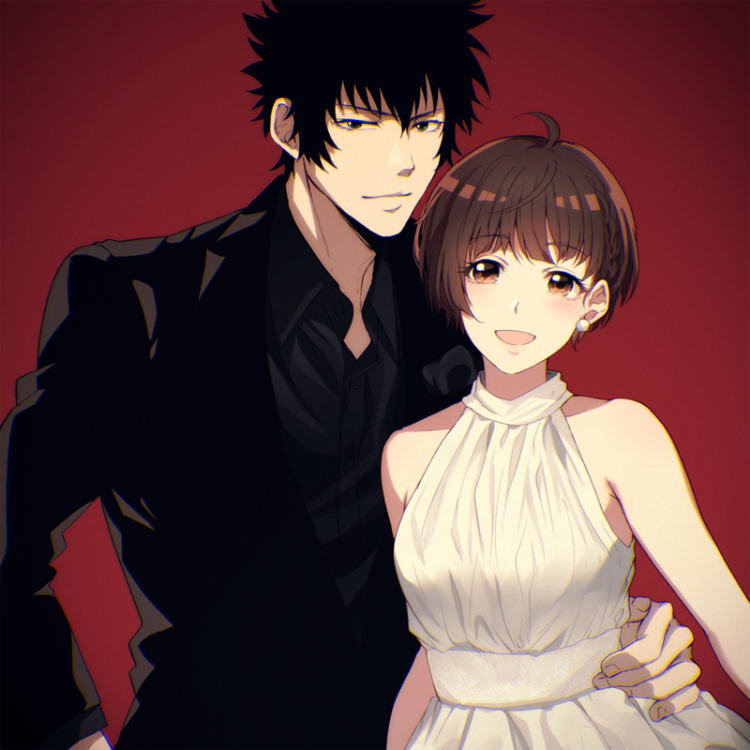 *Akane had shown up with her partner Shinya and smiled as she looked over to him knowing they forgot