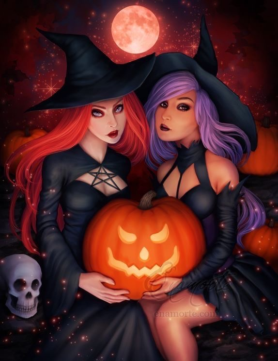 *Takes a picture of Jean and Rika for a Halloween poster* You girls look great! @darkphoenix @sniper