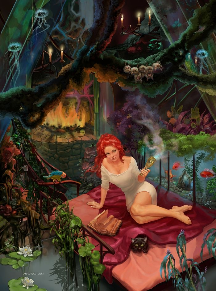 *Jean was glad that her sister fairy had invited her to this magical kingdom, she was enchanted with