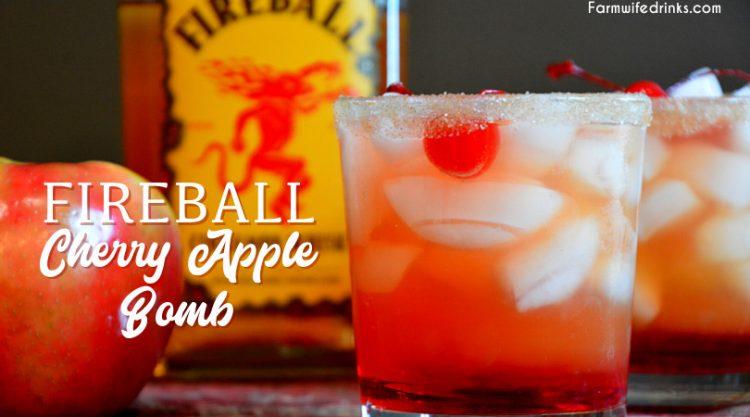 Fireball-Cherry-Apple-Bomb-Cocktail