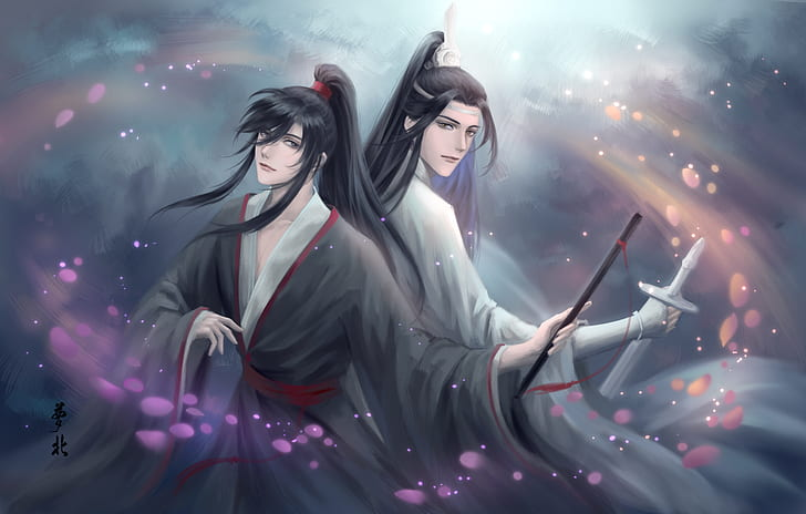 *He and Wei Ying had found themselves at some sort of studio model agency and they had never been in