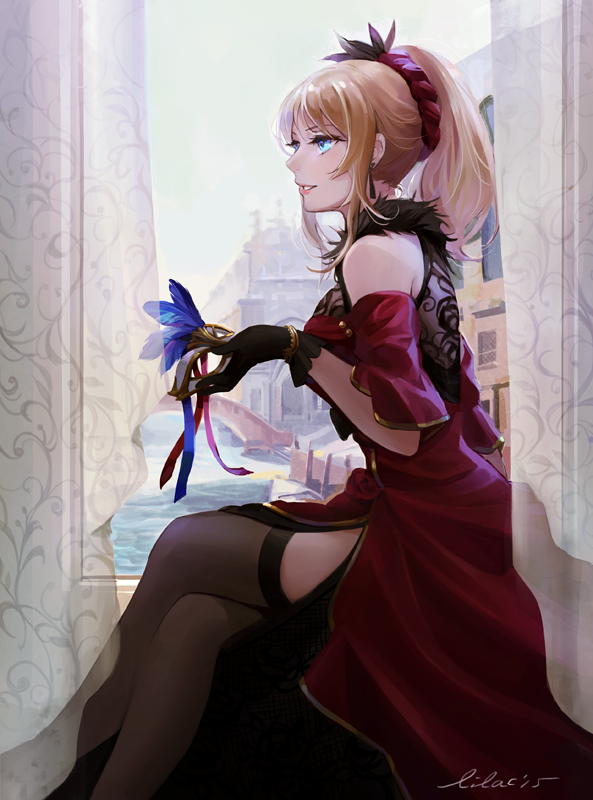 *She sits and watches family, friends and attendees having fun.* My goodness! This turned out beauti