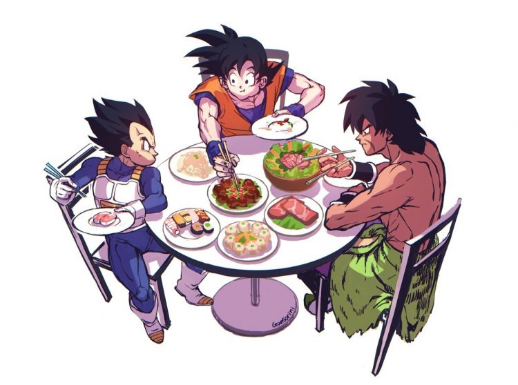 Let me make one thing clear! Just because we are sitting here eating, doesn't mean I wont kill