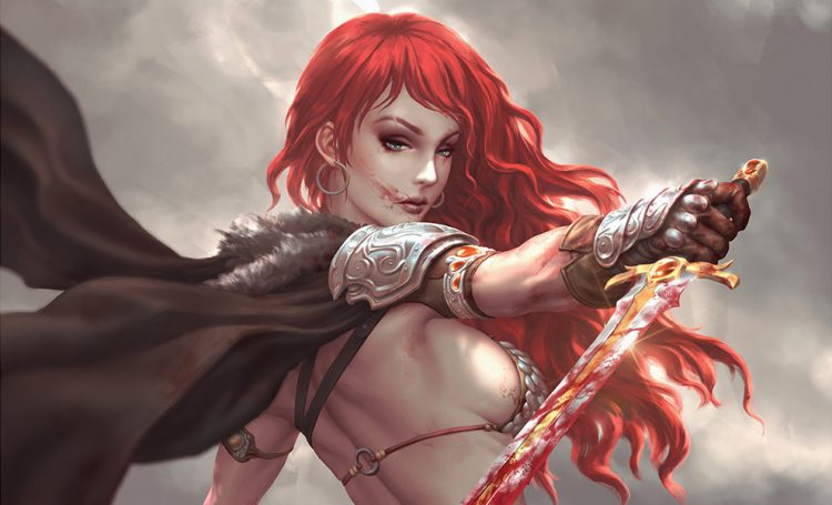 *Finds more of them, hops down from her stead and slaughters them mercilessly.* red-sonja-birth-of-t