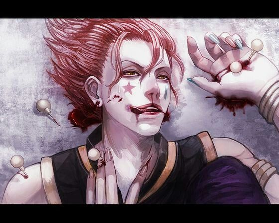 *Finds another place that captivates his attention.* This must be what I heard about. *Hisoka enters