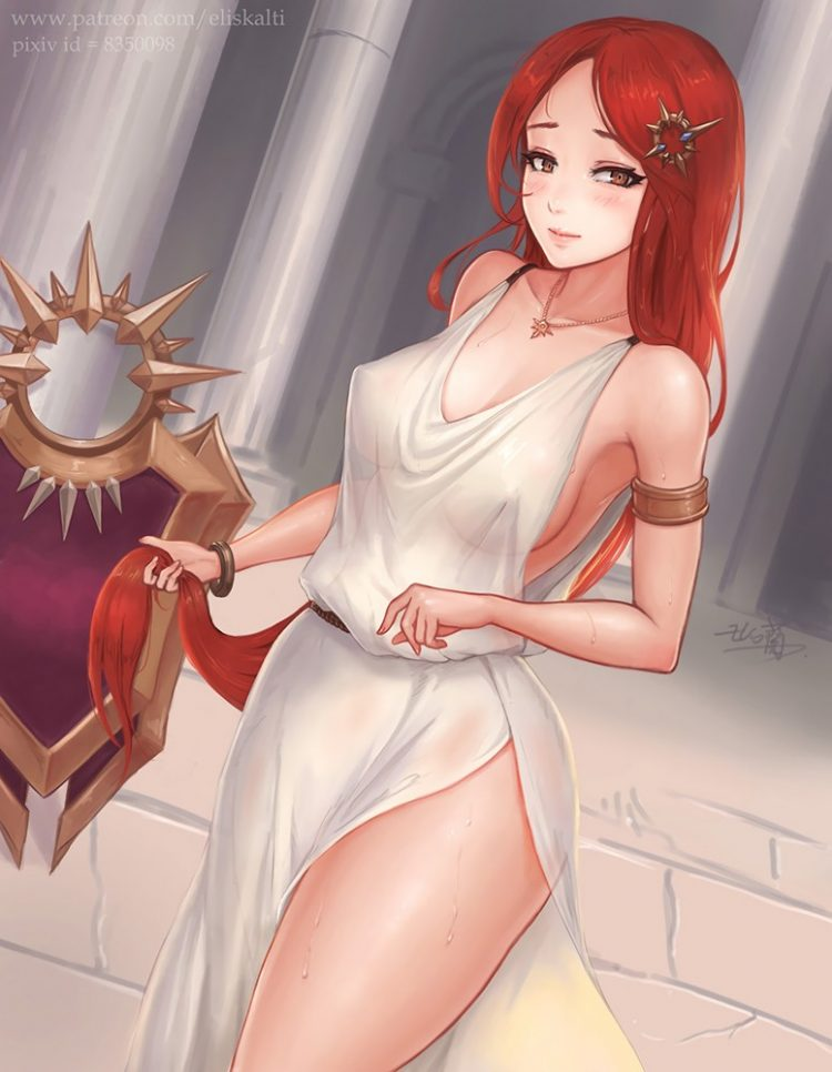 *It was a challenge but they got Leoncita to dress in a toga for a photo project the twins had in mi