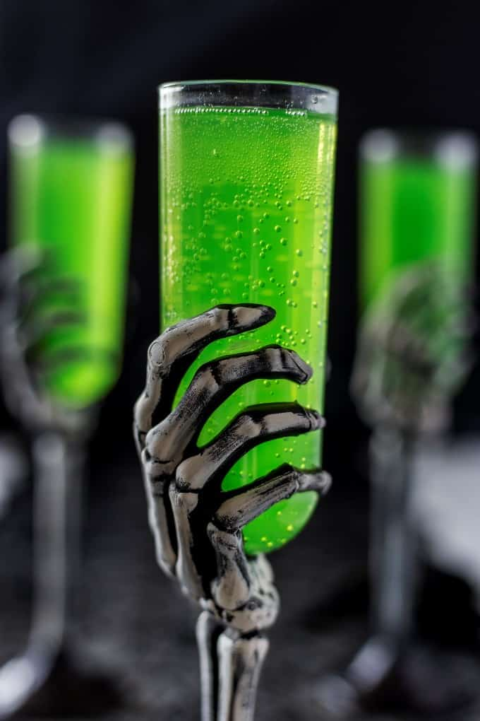 *Puts out an elixir called the Embalming Fluids Cocktail and then takes one and raises it up.* Octob