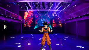 """Oh! really Vegeta! I""""m ready to dance too! Hey why did everyone leave the dance floor? I promi"""