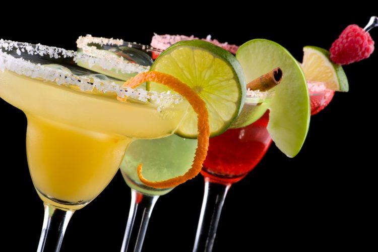 *helps her husband set up the drinks.* margarita-11