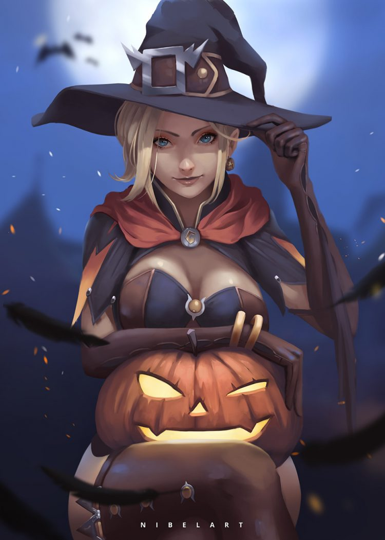 *She arrives and sets down the pumpkin for the ritual.* So mote it be! *She responds instinctively.*