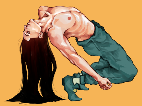 *After Hisoka insisted he take up the photographers on their offer to model for them. Illumi went al