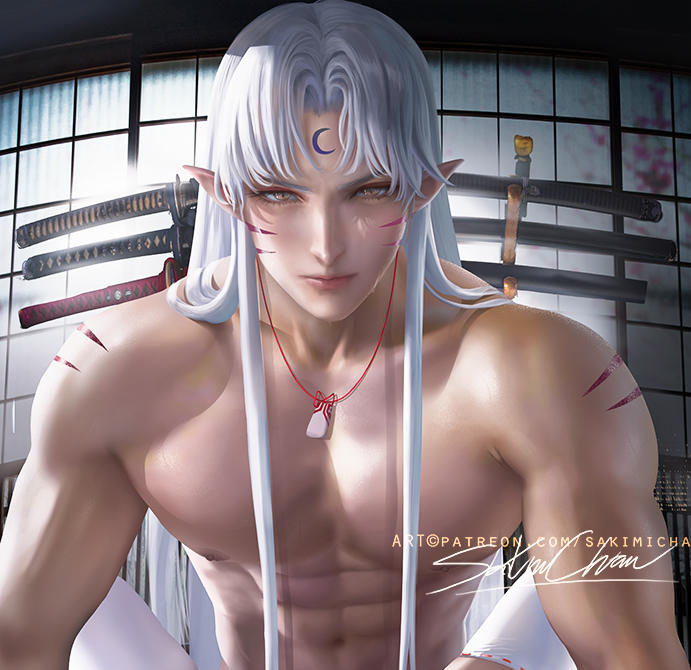 *After a great workout and some sword fighting with some of Ranma's elite swordfighting studen
