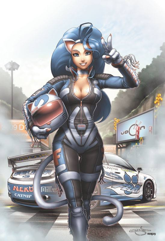 *As she was speeding by, she had to turn around and stop as she saw her sister on the side of the ro