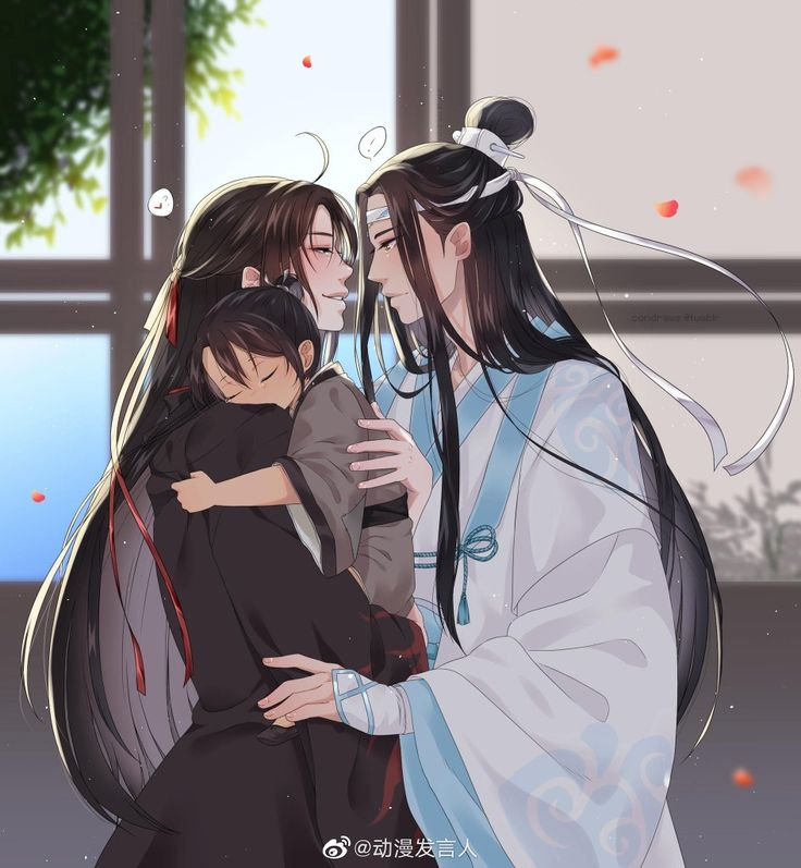 *Wei Ying and Lan Zhan had showed up for their first official photo session chance to have an offici