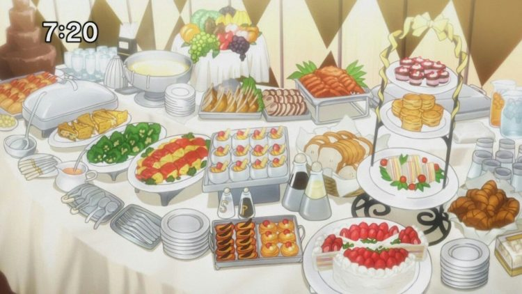 *Helena worked diligently to prepare a table for those coming to the ballroom to celebrate Thanksgiv