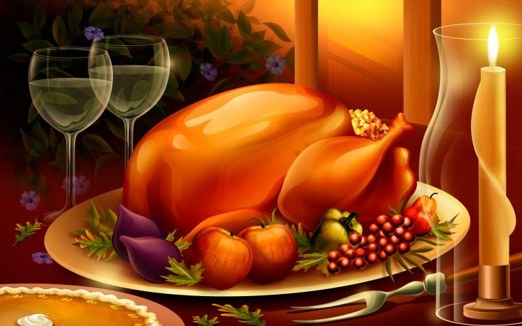 *Brings some of the Thanksgiving food made at the Sato no Kokoro restaurant to Assassin Creed Inn &a