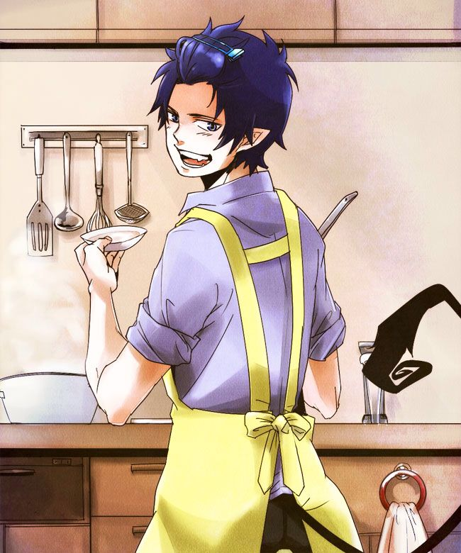 *Rintoki was on the other side of the kitchen making food from the menu for the folks who stopped an