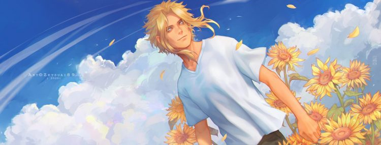 *All Might ventures into a calming garden.* All.Might.full.2996311