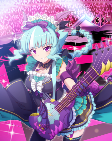 *Arrives at RawSugar studio and begins to practice while she waits for the rest of her bandmates to