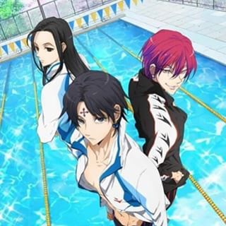 *Eventually, they explore seaside beach and find themselves at the poolside of the resort to try out