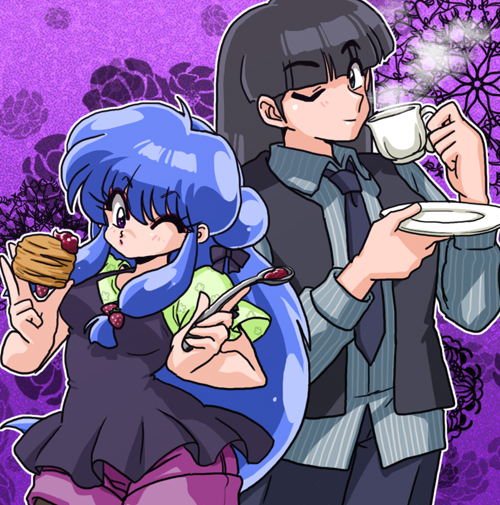 """@reinaamazonasatoakuma *A couple of ghosts invade the bakery and enjoy themselves and leave, """""""