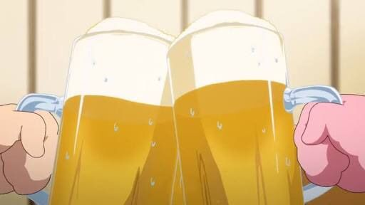*She was working at her great grand auntie's tavern for the day.* Here's your ale gentle