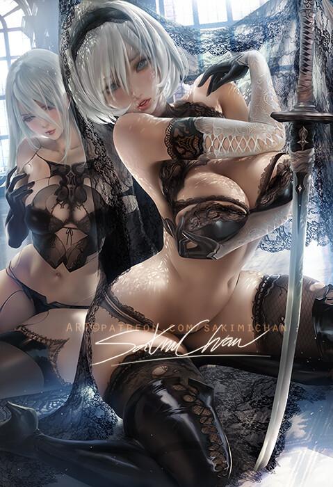@tessatestarossa sakimi-chan-full-lace-2b-nsfw-03
