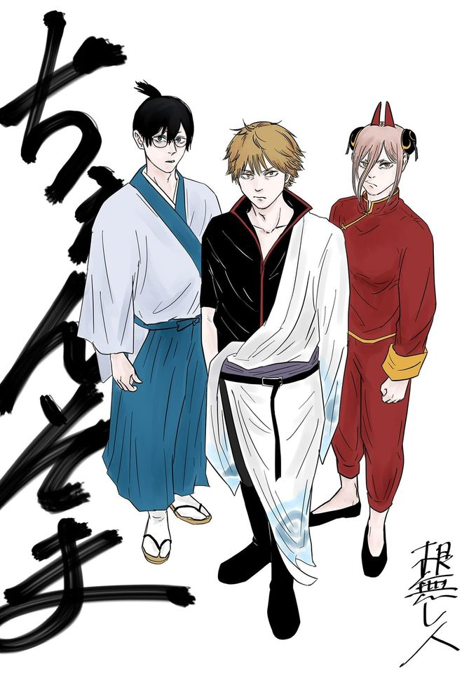 *Shoichi, Kinzou and Leviachan head over to Kabukichou to pick up their job assignments.* @littlehir