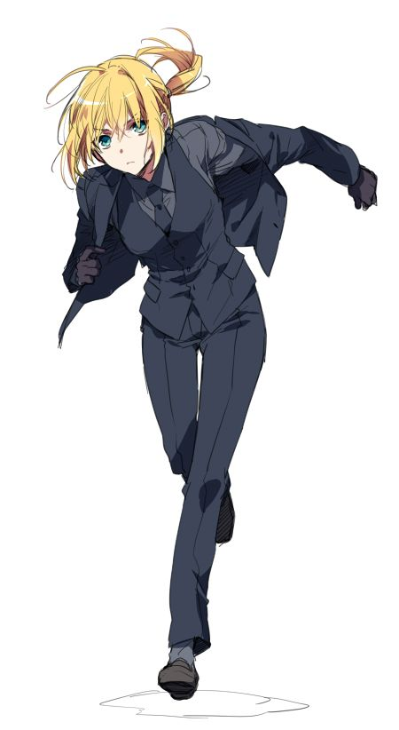 *Ali rushes from the modeling agency to the academy where she intends to catch up on some work. She