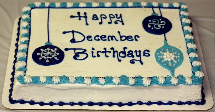 SugarSweet Bakery's staff would like to wish Happy Birthday to all the wonderful winter born b