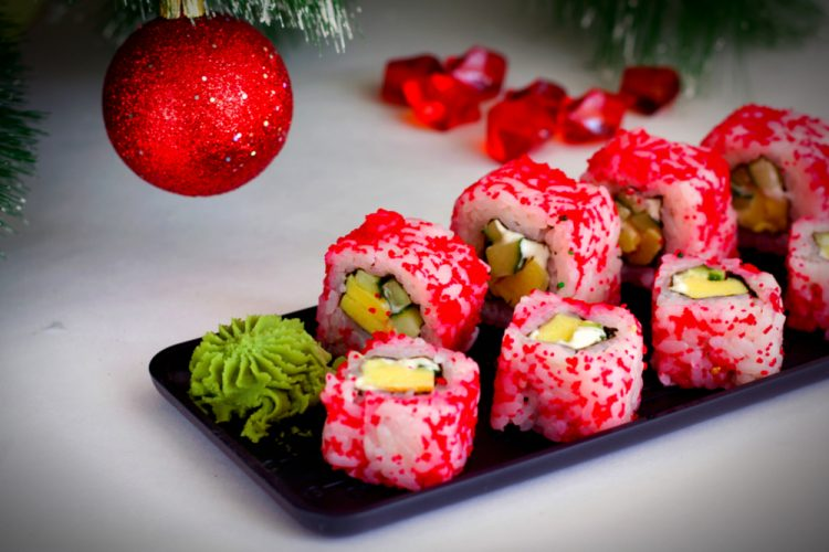 I'll order the sushi rolls ;)Feature-Christmas-in-Japan-By-Maxena