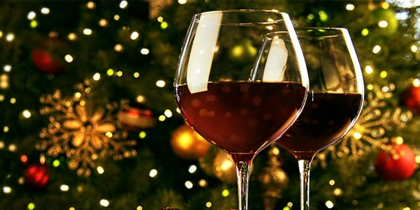 *Serving up some red wine to family and friends dropping into SugarFusion.* christmas-wine-list